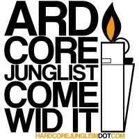 Ardcore Junglist Come Wid It T-Shirt Design