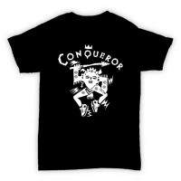 HJLabel T Conqueror Black MOCK 200x200 - T Shirt - Conqueror Records
