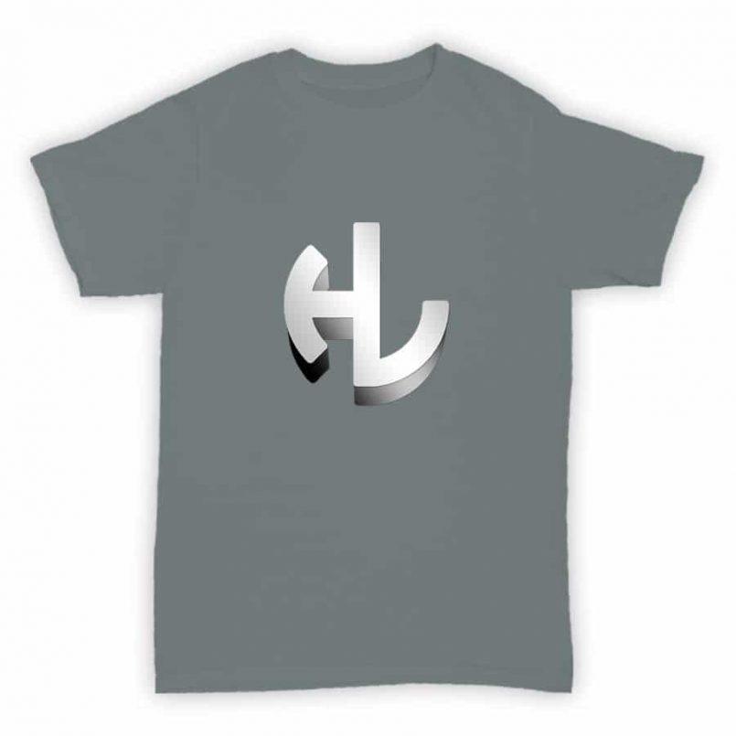 T Shirt - Hardleaders - Sports Grey