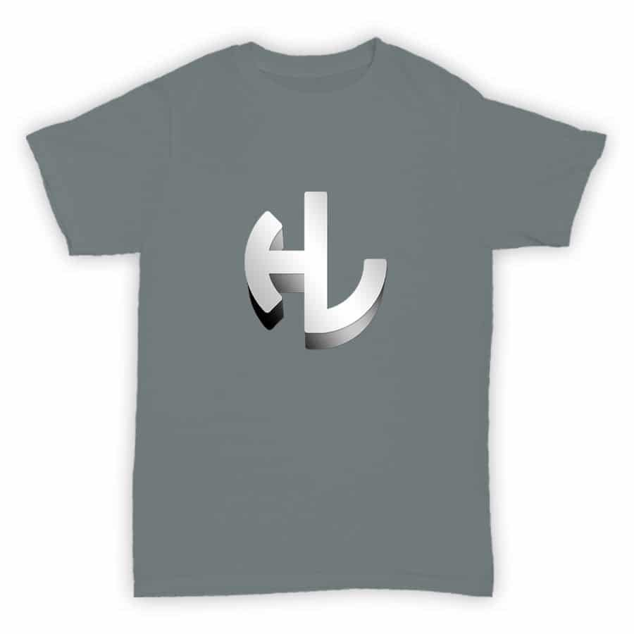 T Shirt - Hardleaders - Sports Grey