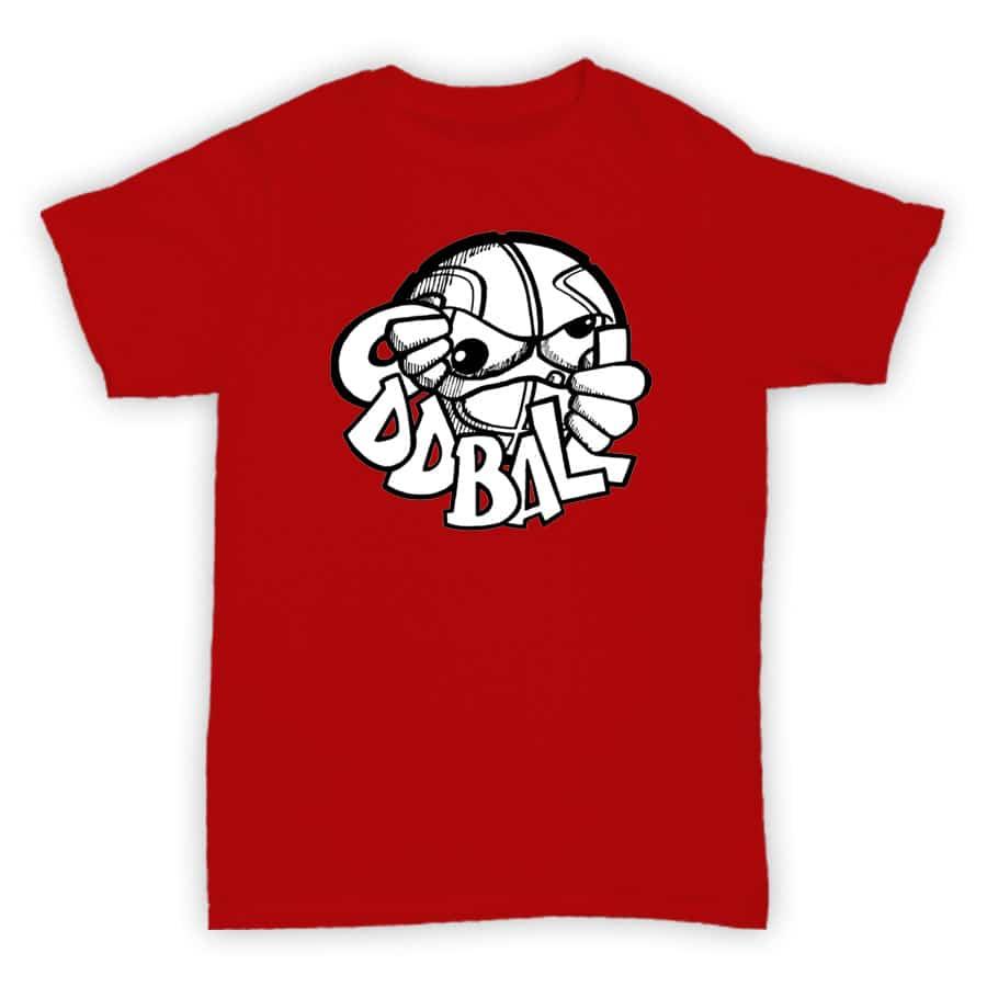 T shirt oddball records hardcore junglism for Vintage record company t shirts