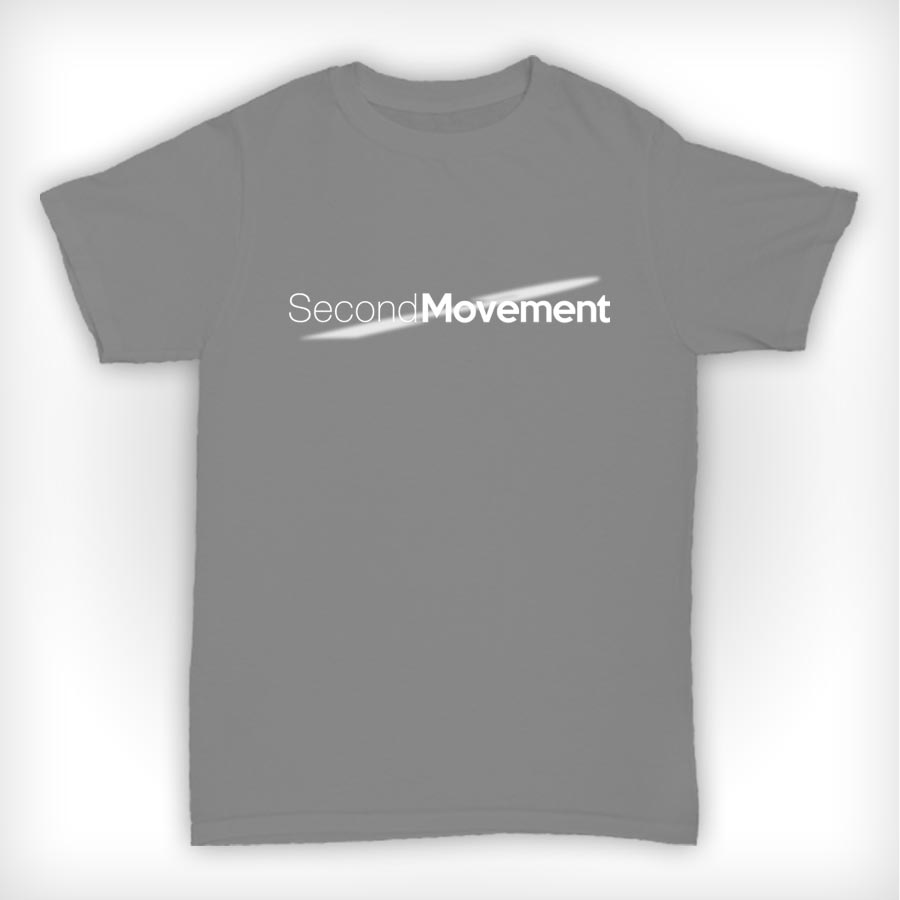 Second Movement T Shirt Heather Grey