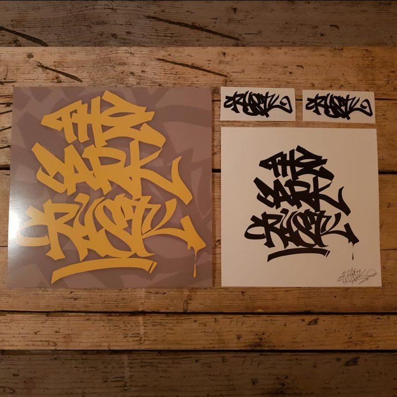 HJ001-DJ Crystl - The Dark Crystl Deluxe Vinyl Package-2