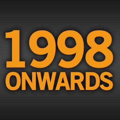 Browse Tracks From 1998 Onwards