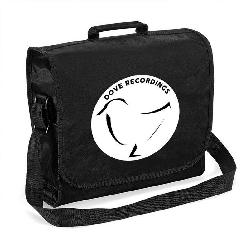 Dove Recordings - Record Bag In Black