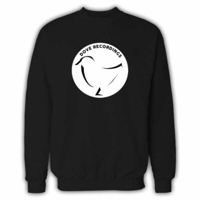 Dove Recordings Record Label Sweatshirt In Black