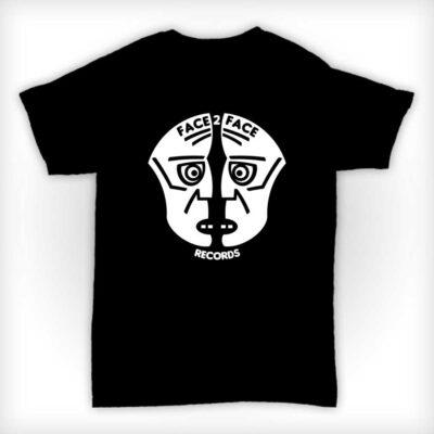 Face 2 Face Records T Shirt - Black